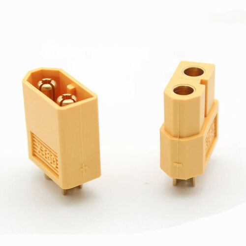 Female Bullet Connectors Adapter Banana Plug 3.5mm T-Plug 10 Pairs XT60 Male