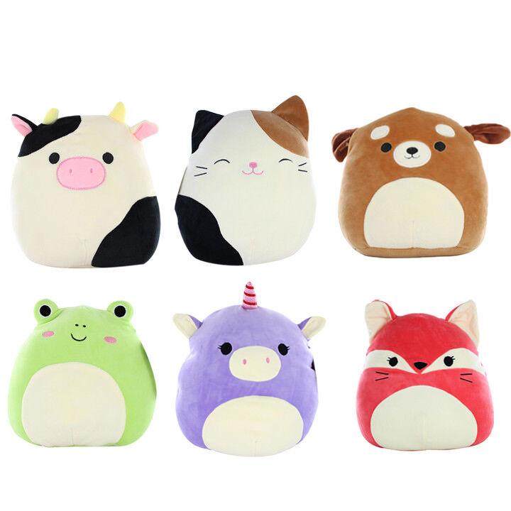 12pcs Value Deal 5  Mini Kellytoy Squishmallows Super Soft Plush Toy Animal Pals