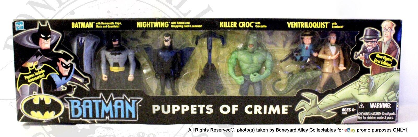 BATMAN TRU Exclusive PUPPETS OF CRIME MISBNEWRARE-HASBRO