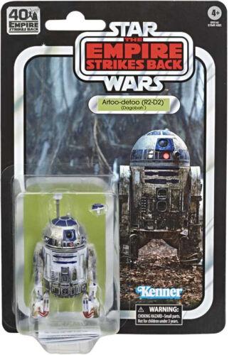 Action Figure STAR Wars The Black Series 40TH ANNIVERSARIO R2-D2 Dagobah