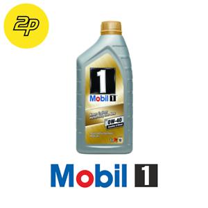 1 LITRO MOTOR MOBIL 1 0W40 0W-40 FULL SYNTHETIC OLIO BMW LL 01