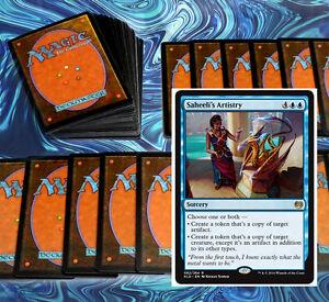 mtg MODERN BLUE MIRROR MOCKERY DECK Magic the Gathering rare 60 cards +