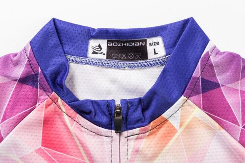 Women/'s Short Sleeve Cycling Clothing Bike Cycle Jersey Bicycle Shirts Top S-5XL