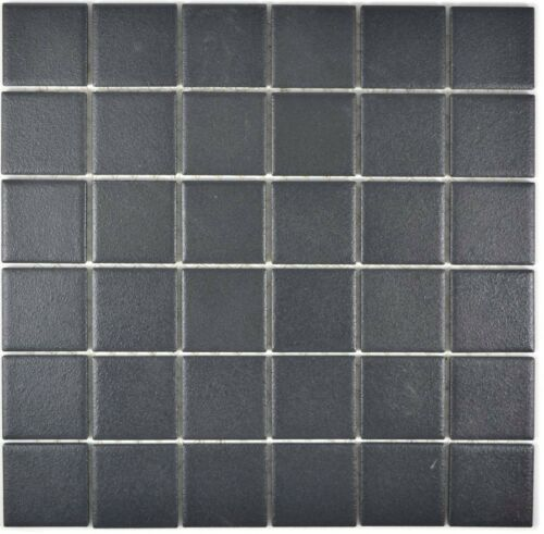 14-0311-R10/_f Mosaik Fliese Keramik schwarz rutschhemmend Küche Dusche Art