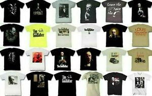 Pre-Sell The Godfather Movie Don Corleone Licensed T-shirt #2