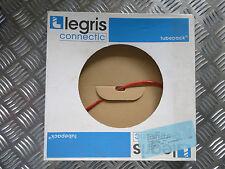 Legris connectic tubepack Polyurethan Schlauch, Rot 4 x 2,5 mm 25 m neu
