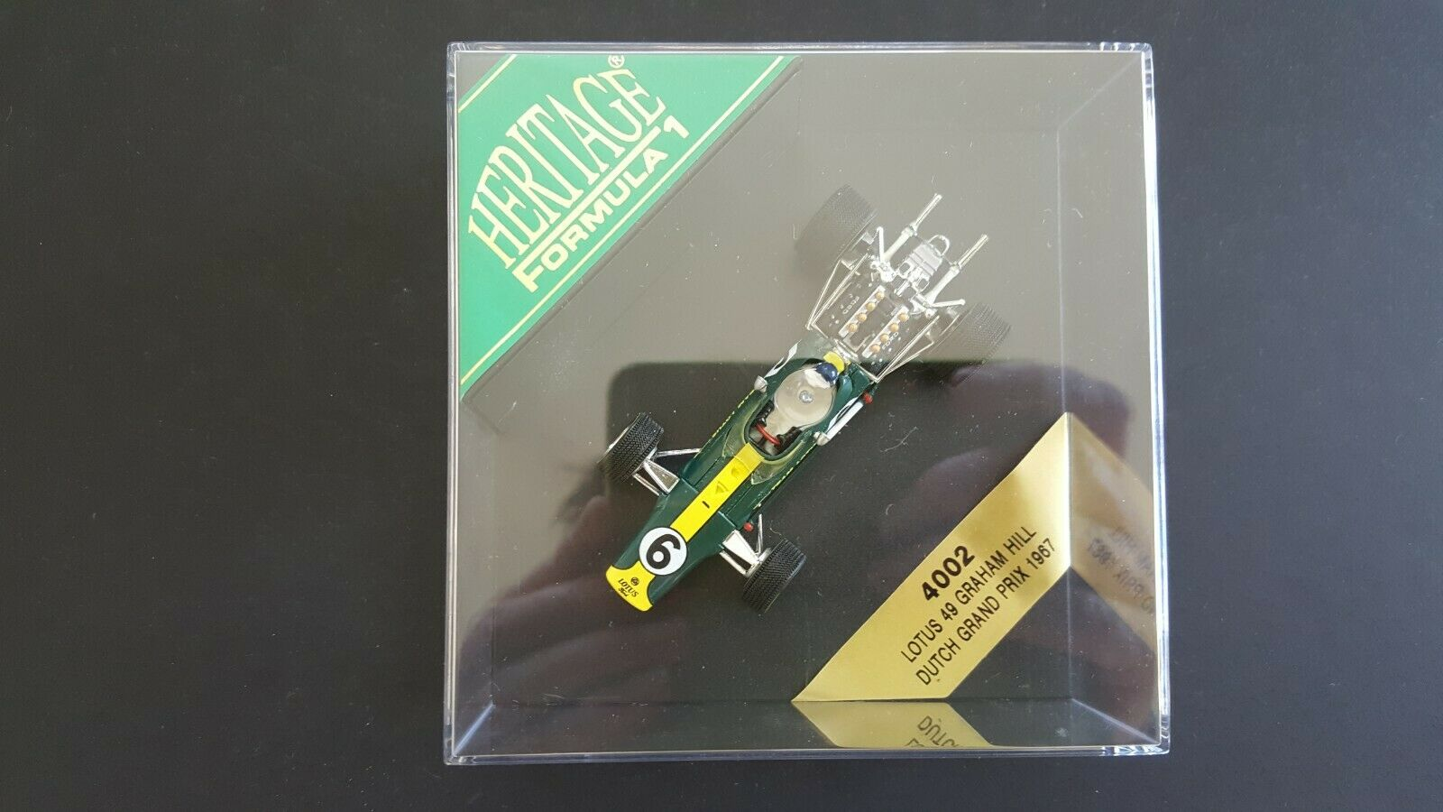 ONYX HERITAGE - - - FORMULA 1 4002 LOTUS 49 GRAHAM HILL DUTCH GRAND PRIX 1967 1 43 78955d