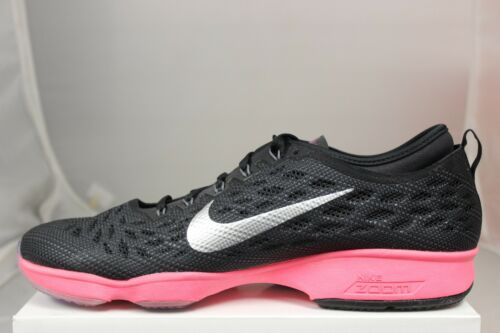 Fit Sin Marfil Nike Zoom Punch Mujer Agilidad Caja Nuevos Hyper Negro 684984001 nxE16vB6