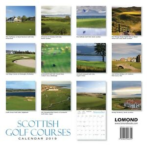 Scotland-Scottish-Golf-Courses-Calendar-2019-new