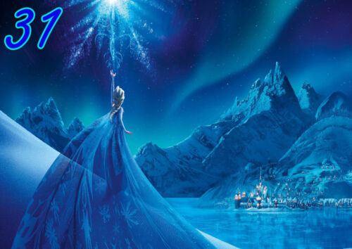 Disney Frozen Elsa Anna Olaf A4 Poster wall art print Free p/&p