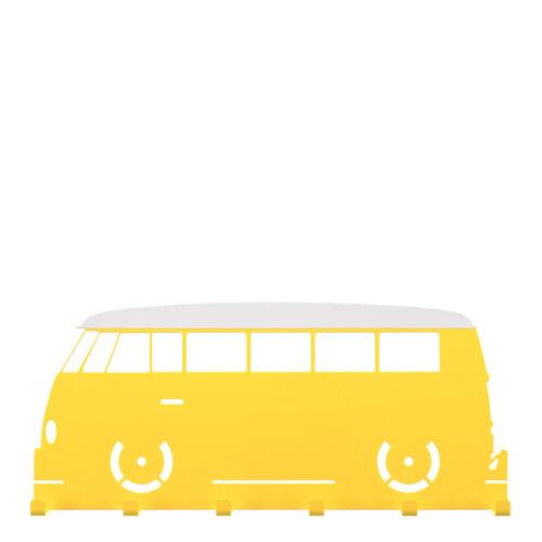 Schlüsselbord gelb // weiß Schlüsselbrett VW T1 Fensterbus Oldtimer