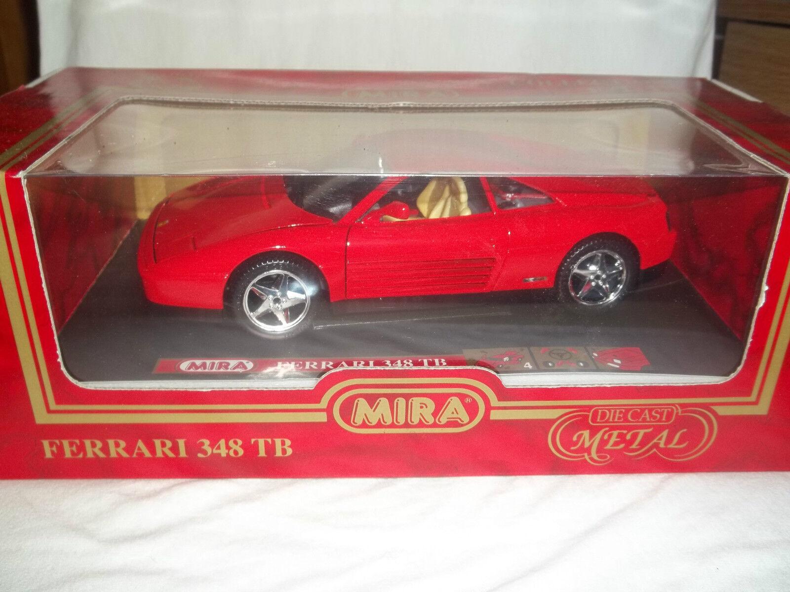 Mira 61014 Ferrari 348 TB Red 1 18 Mint & Boxed