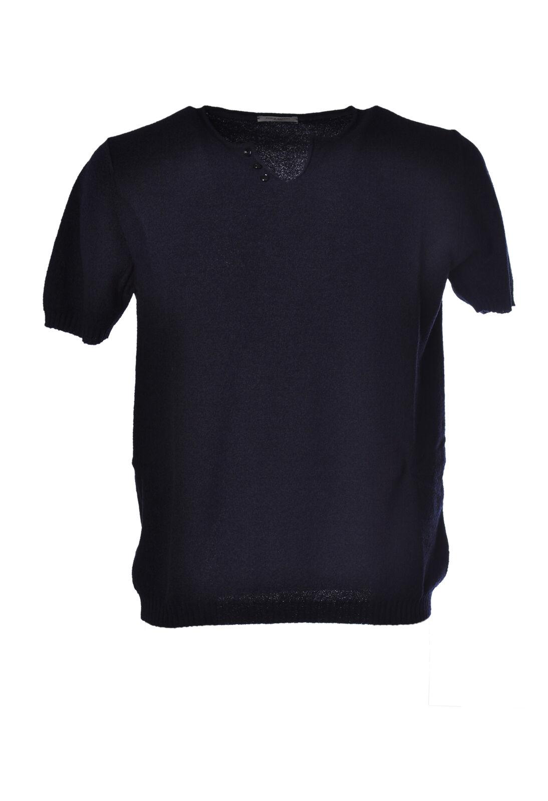 Paolo Pecora - Knitwear-Sweaters - Man - Blau - 1787116F181425