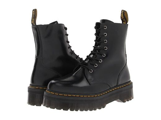 Dr. Martens Women`s Jadon Aggy Style BLACK Smooth US 7 LAST!!!