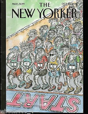 "The New Yorker Magazine October 22, 2012 ""On Your Mark!"" by Edward Koren Exc."