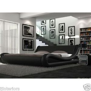 ENZO-ITALIAN-MODERN-SMALL-DOUBLE-KING-SIZE-LEATHER-BED-MEMORY-FOAM-MATTRESS-gt