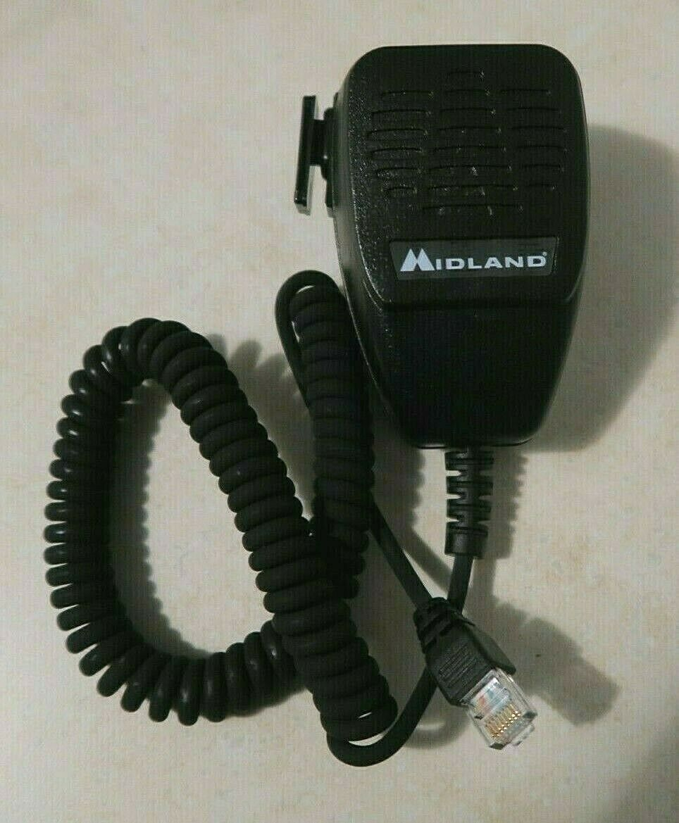 ACC-4425 technojoe2000 Midland ACC-4425 Heavy Duty Mobile Radio Microphone for STM Series P25