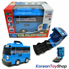 "The Little Bus TAYO Mini Car Carrier Storage Toy for 2"" Mini Tayo No Cars Inside"
