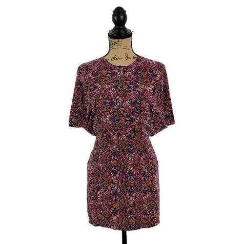 Wren Womens sz S Kimono Sleeveless Open Back Dress