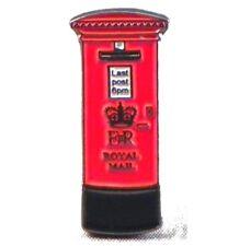 lapel badge Postman gift Traditional Royal Mail Red Post Box enamel pin