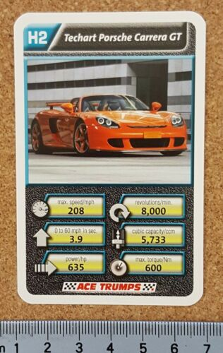Top Trumps Single Cards Tuners Supercharged Custom Cars Ace Issue Various FB3