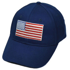 Details about United States Flag Navy Blue American USA Patriotic Hat Cap  Sun Buckle Merica