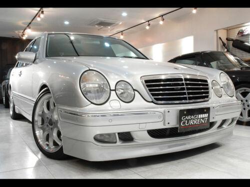 For 99-01 Benz W210 FRP BrabsStyle Front Bumper Lip Add on Sedan E320 E420 E430