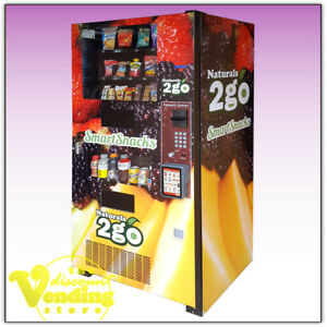 Details about Refurbished Seaga N2G4000 Healthy Combo Vending Machine