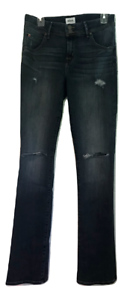 Hudson Beth Baby Boot Destroyed Jeans MSRP $189.00 Size 32