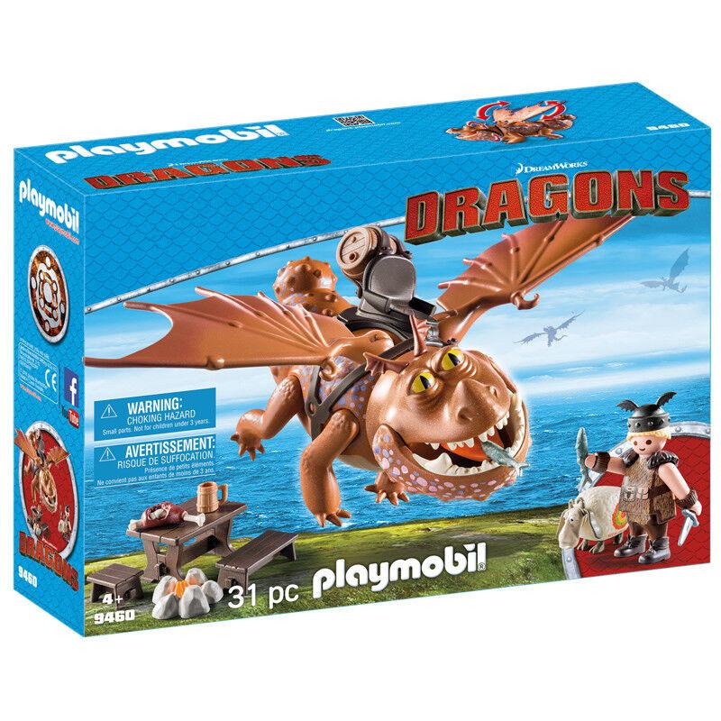 Playmobil Dragons Dragons Dragons Fishlegs and Meatlug 9460 NEW 0e2115