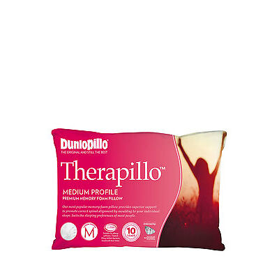 NEW Therapillo Premium Support Memory Foam Pillow in Medium Profile