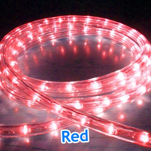 OUTDOOR LED ROPE LIGHTS CHASING STATIC XMAS CHRISTMAS LIGHTING GARDEN HOME UK