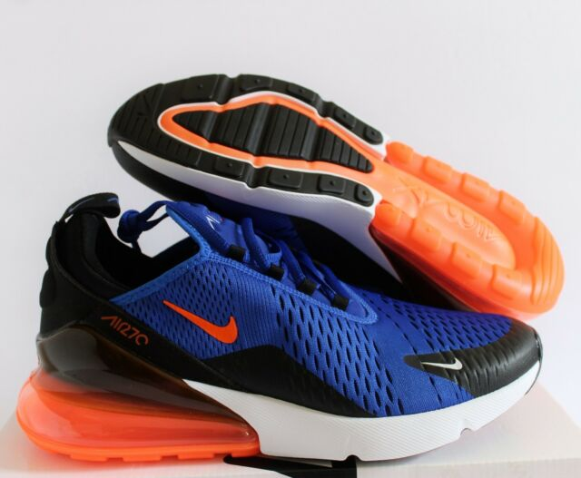 2f18add2c8 Nike Air Max 270 Racer Blue HYPER Crimson Black Ah8050-401 Men's ...