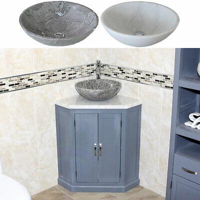 Grey Bathroom Vanity Unit Free Standing