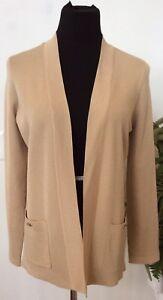 Jacket Msrp 8874036026 New Nwt 89 Women's M Size Beige Jones Cardigan Polyester Blend York 4HgwB8q