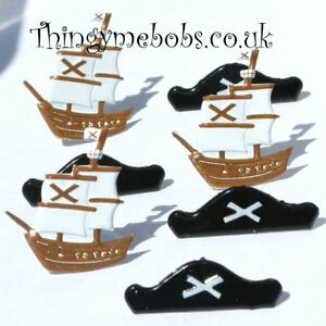 12 PIRATE BRADS  CARD MAKINGSCRAP BOOKINGCRAFTS  SHIPHAT - Wigan, United Kingdom - 12 PIRATE BRADS  CARD MAKINGSCRAP BOOKINGCRAFTS  SHIPHAT - Wigan, United Kingdom
