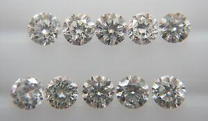 Natural-Loose-Brilliant-Cut-Diamond-10pc-VS-SI-Clarity-H-Color-Brilliant-Round