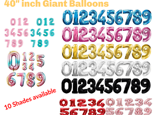40-034-Giant-Foil-Number-Self-Inflating-Balloons-Birthday-Age-Party-Wedding-Baloon