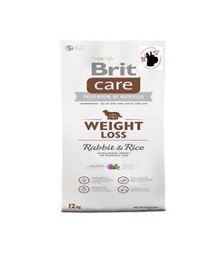 Brit Care Perte De Poids Lapin Et Riz 12kg- 750