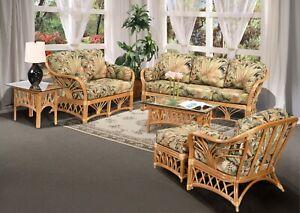Enjoyable Details About Rattan Indoor Living Room Furniture 6 Piece Sofa Set 1690H Bc Download Free Architecture Designs Embacsunscenecom