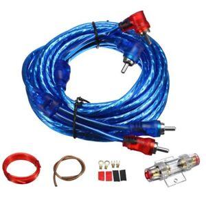 1500W-Car-Audio-Speaker-Wiring-Amplifier-Cable-Subwoofer-Speaker-Installati