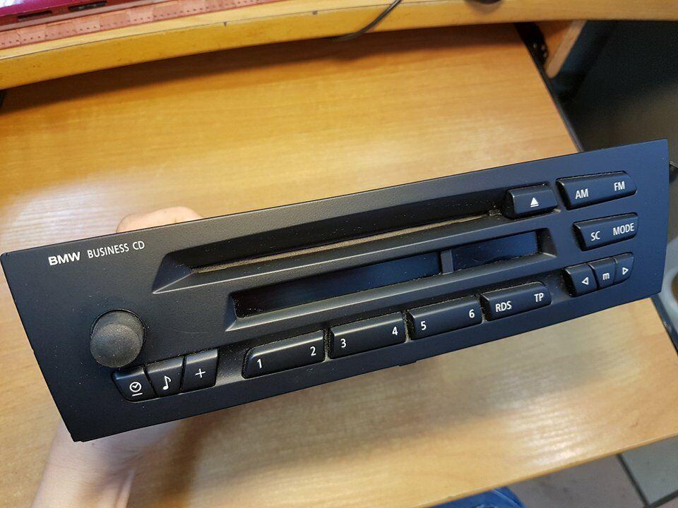 s l1600 - Bmw Busines cd radio car coche Oem original e87 e90 e92 e81 e82 Perfecta