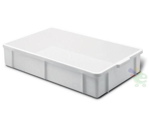 1 Cassetta cesta service plastica per alimenti 60X40 H 6 LT 14 da trasporto