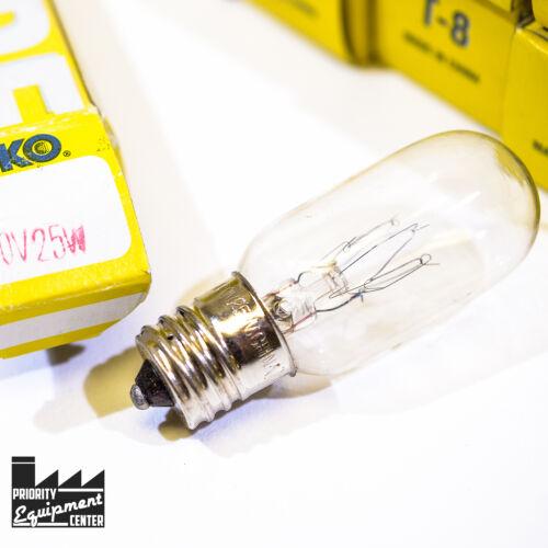 CAX-130 T8-25 Watt 130 Volts Lot of 2 Ophthalmic Lamp Eiko 790 Bulbs
