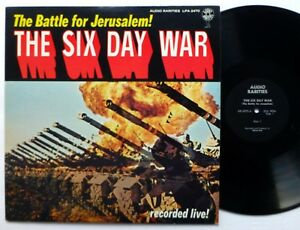 Details about SIX DAY WAR Battle for Jerusalem LP spoken word NEAR-MINT #716