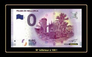 Billet Touristique Souvenir 0 Euro Palma De Mallorca Espagne 2017 Inférieur 100 Gctefs9c-07230645-203438484