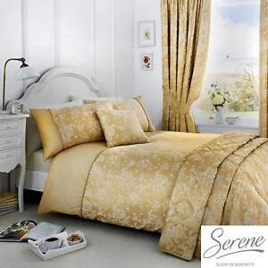 Serene-Jasmine-Jacquard-Easy-Care-Duvet-Cover-Bedroom-Range-Champagne