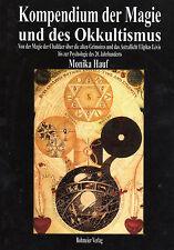 KOMPENDIUM DER MAGIE UND DES OKKULTISMUS - Monika Hauf BUCH - NEU