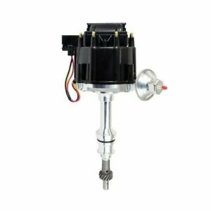 A-Team Performance 65K COIL HEI Black Cap Complete Distributor Compatible With Ford FE 352 360 390 427 428 1-Wire Instillation