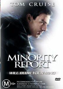 Minority Report 2002 Dvd Region 4 Ebay